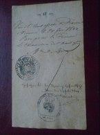 Ambassade De France A Vienne - WIEN  -Brünn Brno-  Old Handwritten Passport Page ?  Pass Visa  1844 D133574.9 - Manuscritos