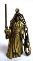 FIGURINE PORTE CLES METAL STAR WARS 1997 OBIWAN KENOBI - Power Of The Force