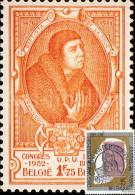 Maximumkaart België / Postzegel Koning Leopold II / 1993 / Ridder Jan Baptist De Tassis, Grootmeester Der Posterijen - Cartes-maximum (CM)