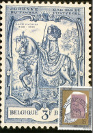Maximumkaart België / Postzegel Koning Leopold II / 1993 / Gravin Alexandrine De Rye, Grootmeesteres Der Posterijen - Cartes-maximum (CM)