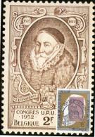 Maximumkaart België / Postzegel Koning Leopold II / 1993 / Baron Leonard I De Tassis, Grootmeester Der Posterijen - Cartes-maximum (CM)