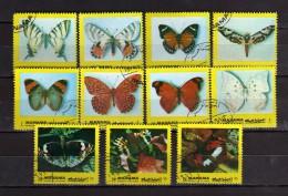 1972 - Manama °-  Papillon.     Oblitéré. Used.  Vedi Descrizione - Manama