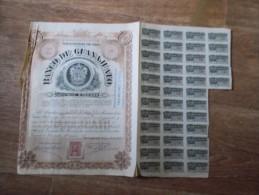 1902  BANCO DE GUANAJUATO ACCION SERIE A mexicana