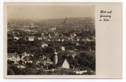 Autriche--VIENNE--Blick Auf Grinzing U Wien Cpsm N°38038 éd PAG--Cachet Censure 865 Au Verso - Grinzing