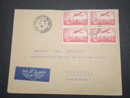 FRANCE -  Env. De Toulouse Pour Baclieu ( Cochichine ) En 1938 - Aff.bloc 4 Du P.A.11 - A Voir - Lot P13179 - Postmark Collection (Covers)