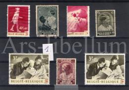 Lot Van 63 Postzegels / Royalty / Belgique / Belgium / Famille Royale / Dynastie / Koningshuis - België