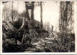 Photographie Originale - Tombes De Soldats Américain Au Bois Belleau - Guerre, Militaire