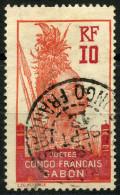Gabon (1910) N 37 (o) - Oblitérés