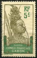 Gabon (1910) N 36 (o) - Oblitérés