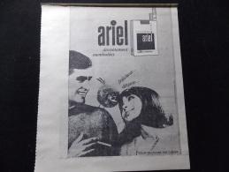 Coupure de presse PROMO voir description Pub Cigarette Ariel R�gie Francaise des Tabac