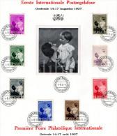 Royalty / Belgique / Belgium / Famille Royale / Dynastie / Koningshuis / Koningin Astrid / Reine Astrid / 1937 - Feuillets De Luxe