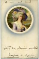 MEISSNER ET BUCH - Miniature : Ges.gesch , Série 1557 - FEMME DANS UNMEDAILLON - - Illustrators & Photographers