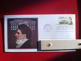 1981 Joint Ireland / USA - James Hoban Death 150th - US Postmasters Of America FDC - Emissions Communes