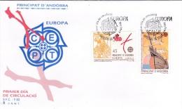 Europa CEPT FDC - Andorra 1992   (G79-37) - Europa-CEPT