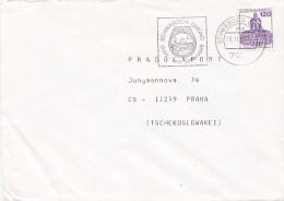 K3664 - BRD (1987) 7070 Schw�bisch Gm�nd: Schw�bisch Gm�nd - Gold and silver town (machine postmark) letter