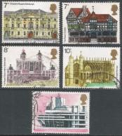 Great Britain. 1975 European Architectural Heritage Year. Used Complete Set. SG 975-979 - 1952-.... (Elizabeth II)