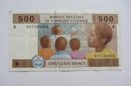 500 F Afrique Centrale - États D'Afrique Centrale