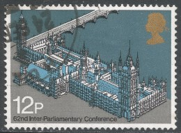 Great Britain. 1975 62nd Inter-Parliamentary Union Conference. 12p Used. SG 988 - 1952-.... (Elizabeth II)
