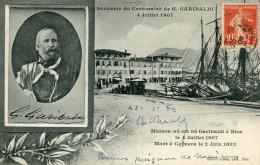 ITALIE(POLITIQUE) GARIBALDI(NICE_CAPRERA) - Italia