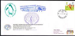 ANTARCTIC,INDIA, Expedition 34, BHARATI + MAITRI 31.DEC 2014,3 Cachets,off.cover, Look Scan !! 23.11-01 - Antarctische Expedities