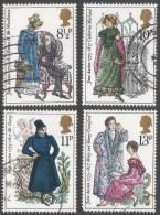Great Britain. 1975 Birth Bicentenary Of Jane Austen. Used Complete Set. SG 989-992 - 1952-.... (Elizabeth II)
