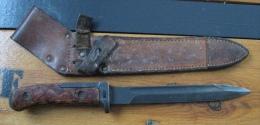 Baïonnette Tchèque VZ 58, 2 Rivets, Soie Longue, Croisière Longue,  Variante 4 - Armes Blanches