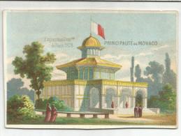 CHROMOS EXPOSITION UNIVERSELLE PARIS 1900 - PAVILLON PRINCIPAUTE DE MONACO - Trade Cards