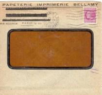 LETTRE DE PARIS RUE DE LA BANQUE DU 23 AOUT 1945 - Marcophilie (Lettres)