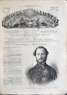 UNIVERS ILLUSTR� N� 733 30 JANV 1869 ALASKA CADIX LONDON SAINT-DENIS DE LA R�UNION GORBIO SANTA-F� GUSTAVE NADAUD PRIM +