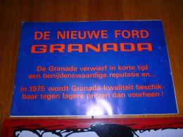 CB7 LC138 Publicit� Ford Granada 1975