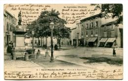 CPA  54 :  ST NICOLAS DU PORT   Place De La République  1904  VOIR   DESCRIPTIF   §§§ - Saint Nicolas De Port