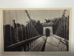 Podul Suspendat.  Parcul Din Craiova - Romania