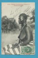 CPA 1329 - Femme Seins Nus Nu Féminin Femme Bambara Etude N° 8  - SENEGAL - AFRIQUE  Photographe FORTIER - Sénégal