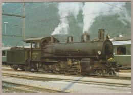 RhB - Rhätischen Bahn - Dampflokomotive G 4/5 Nr. 108 - Chur, 1977 - Locomotive à Vapeur - Train - Railway - Trenes