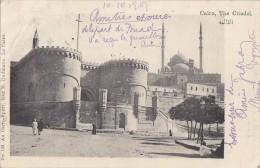 Egypte - Le Caire Cairo - Précurseur - The Citadel - Postmarked 1907 Asyut Cairo - Cairo