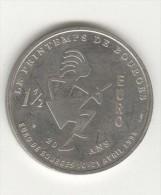1,5 Euro Bourges - 1996 -20ème Anniversaire Du Printemps De Bourges - 10 Au 21 Avril 1996 - Euros Of The Cities