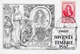 JOURNEE DU TIMBRE  1947 PARIS    Edition Jacques Lafitte