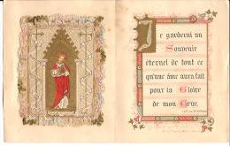 SOUVENIR DU JUBILÉ MAISON SACRE COEUR DE JETTE ST PIERRE 1836>1886 KANTEN PRENTJE Bpr - Images Religieuses