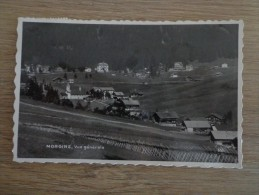 CPA PHOTO SUISSE MORGINS VUE GENERALE - VS Valais