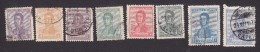 Argentina, Scott #231-234, 236-239, Used, Jose De San Martin, Issued 1917 - Used Stamps