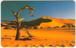NAMIBIA A-037 Chip Telecom - Landscape, Desert - used