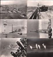 Lot 6 Cartes - HASSI MESSAOUD, Sahara - Pétrole En ALGERIE - Société S.N. REPAL - Algérie