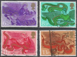 Great Britain. 1975 Christmas. Used Complete Set. SG 993-996 - Used Stamps
