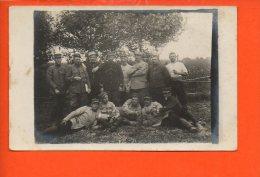 Militaire - Carte Photo  Groupe De Personnages - - Personnages