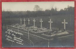 Belgique - RABOSEE - BARCHON - Carte Photo - Foto - Kirchhof - 53 . Inf. Div. - Cimetière - Guerre 14/18 - Belgio