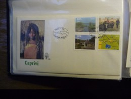 FDC, SWA  55 06-11-1986 Caprivi - Swaziland (1968-...)
