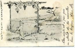 Fable - LE RENARD ET LES RAISINS - Illust : F. Cardet - Dos Simple - Contes, Fables & Légendes