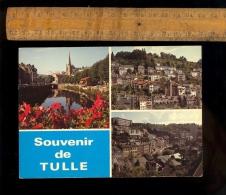 TULLE Corrèze 19 : Les Bords De La Corrèze Cathédrale Vieux Quartier De La Tour Vue Générale Ville - Tulle