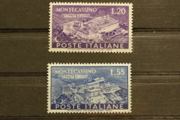 ITALIA 1951 - MONTECASSINO MNH ** - RIF. M 1573 - 1946-.. République