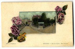 92  MEUDON  RUE DES GALONS RUE DE PARIS - Meudon